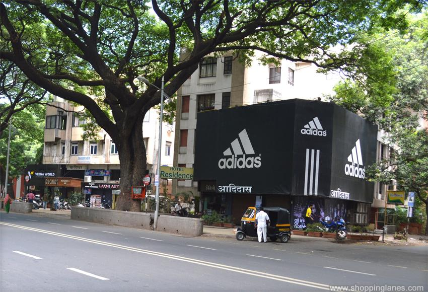 adidas store locator pune